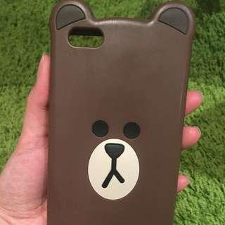 iPhone 6 Plus/ 6s Plus/ 7 Plus case - Line Bear
