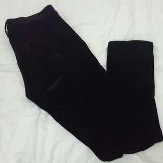 Comme Des Garcons Velvet Trousers