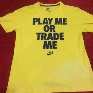 Nike yellow tshirt