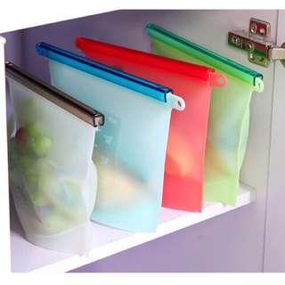 QQ果凍矽膠保鮮袋