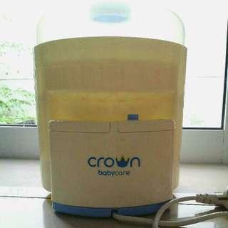 Crown Electric Steam Steriliser 6 Botol