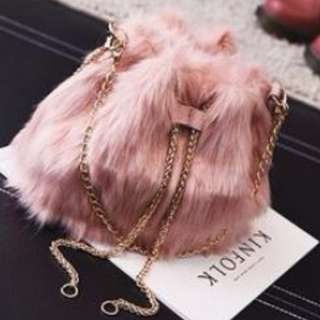 Pinky Flurry Bag #SELLMY1111