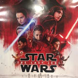 Star Wars - The Last Jedi  (December 15, 2017) Movie Poster