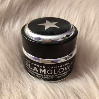 Glamglow Youthmud exfoliating tingle mask full size 50g brand new
