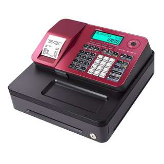 Casio SE-S100 Cash Register.1 Year Warranty. PSB Safety Mark Approved.