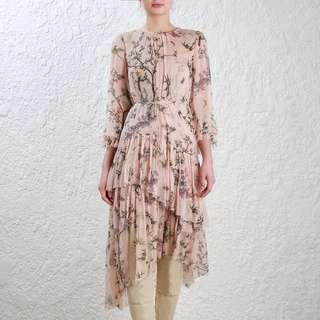 Zimmermann MAPLES TIER LONG DRESS Size0