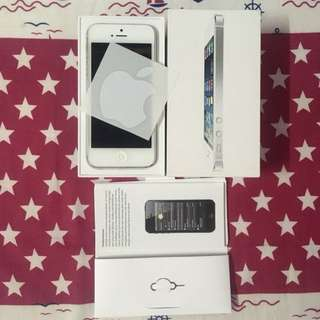 iPhone 5 Silver MYSET 32GB