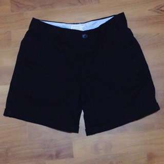Giordano Black Shorts