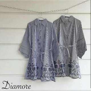 Fleta Strip Shirt / blouse / tunik