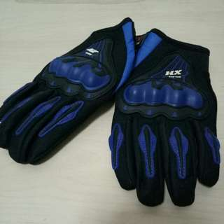 Motorcycle hard knuckle riding gloves XL