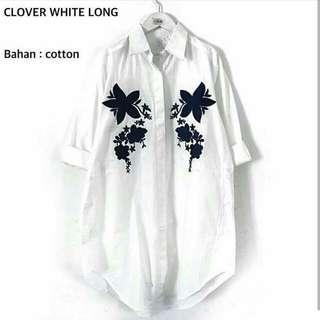 Clover Long Top / Shirt / Tunik