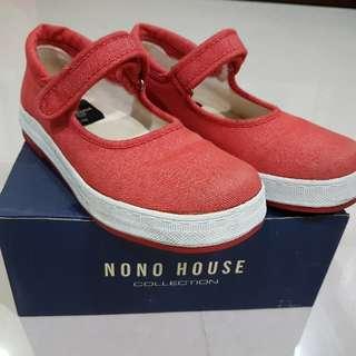 no no house 可愛娃娃小紅鞋