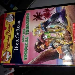 Thea Stilton and the tropical treasure