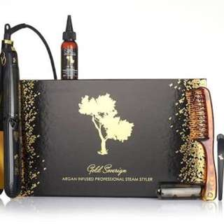 Silk oil of morocco argan infused hair straightener