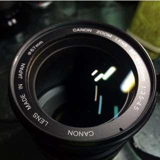Canon EF 24-85mm f3.5-4.5 usm lens