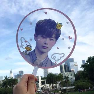 Customize Idol Transparent Fan