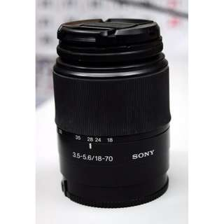 Sony DT 18-70mm 1:3.5-5.6 lens