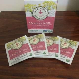 Mother's Milk Organic Healthy Lactation Teas