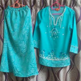 Baju kurung FEMINA girls (7 - 8 years)