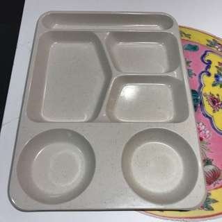 Set lunch Plates