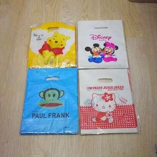 Cartoon plastic bag