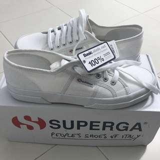 Superga 2750 White Canvas