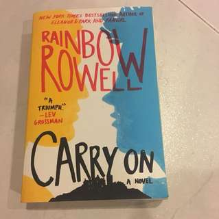 Rainbow Rowell Carry On