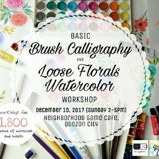 Loose Floral Watercolor Workshop