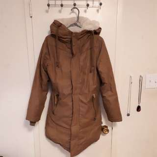 Khujo Khaki Winter Jacket