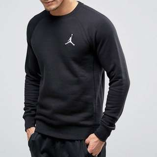 Jordan 小logo大學t 黑 現貨