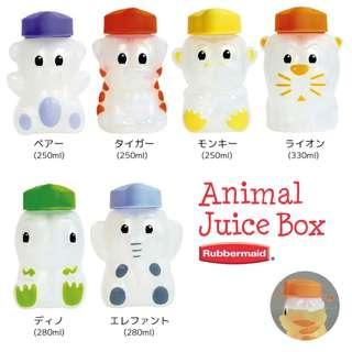 Rubbermaid Animal Juice Box (250mL)