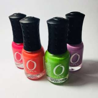 ORLY Nail Polish (PACKAGE DEAL OF 4!)