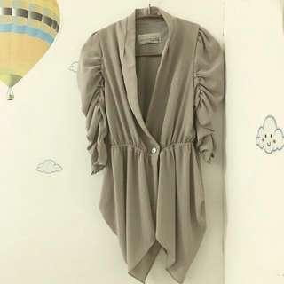 🚚 裸色罩衫 #外套特賣