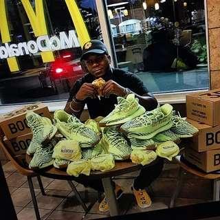 Pre order - cheeseburger yeezys