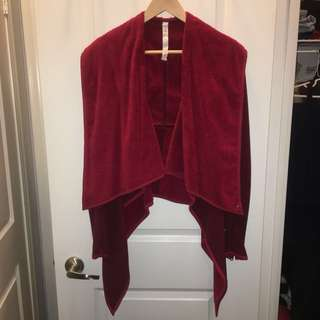 LULULEMON Presence of Mind Jacket in Cranberry size 6