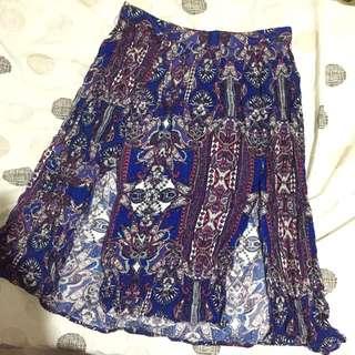 S Cotton On Double Slit Skirt