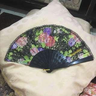 Hand Fabric Folding Fan