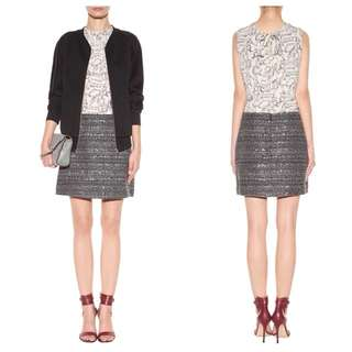 TORY BURCH Ada Tweed Skirt Size US 8
