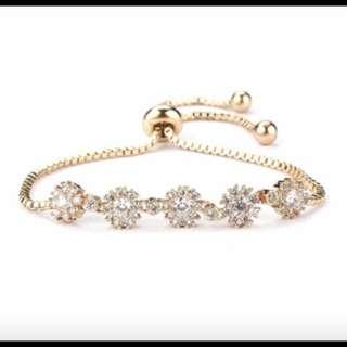 18k gold plated bracelets