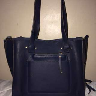 Authentic Parfois 3-in-1 bag navy blue