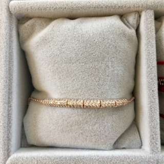 18k hold plated zirconium bracelets