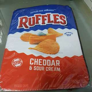 Ruffles Cheddar & Sour Cream Laptop/ Document Pouch