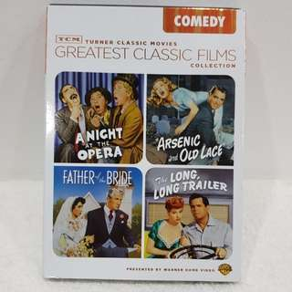 Turner Classic Movies Greatest Classic Film Collection (COMEDY)