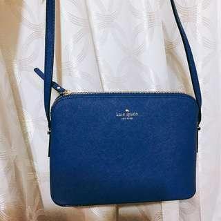 降價⬇️正品Kate Spade 寶藍色小包