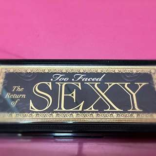 Too Faced (The Return of SEXY) eyeshadow - 100% authentic