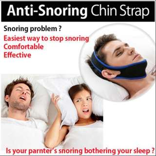 Anti Snoring Chin Support Strap