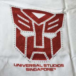 Universal Studio Singapore T-shirt. Transformers