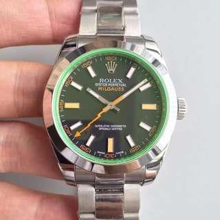 名牌之家 MTR面交 Rolex 綠玻璃 116400GV 40mm 116400