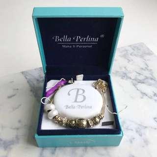 Pandora-Style Charm Bracelet by Bella Perlina