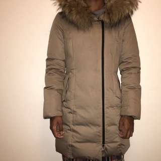 SOIA AND KYO REMOVAL FUR HOOD JACKET